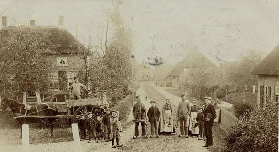 Kerkstraat-te-Nieuwaal-1905