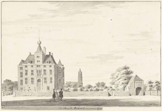 het Huis te Zoelen 1728- Pronk- wikimedia commons