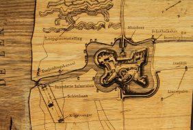 historische kaart fort everdingen