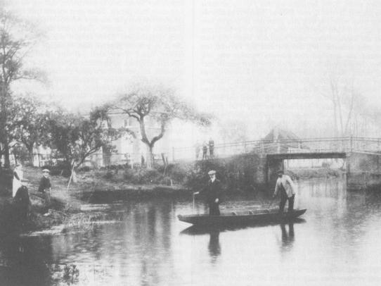 Bisschopsgraaf Nieuwe Brug 1900