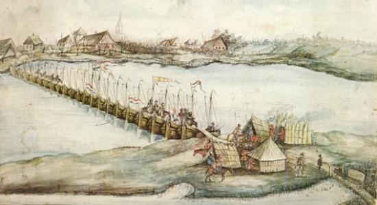Schipbrug Kozakken
